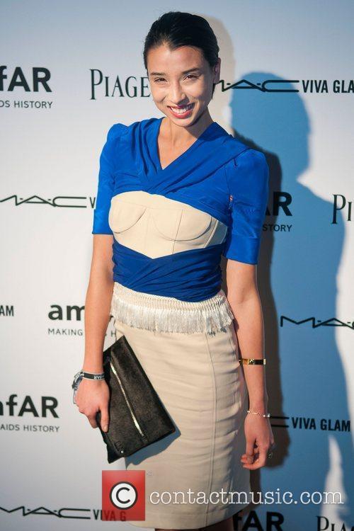 Lily Kwong amfAR inaugural benefit at the Soho...