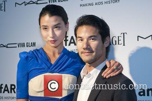 Lily Kwong and Joseph Altuzarra amfAR inaugural benefit...