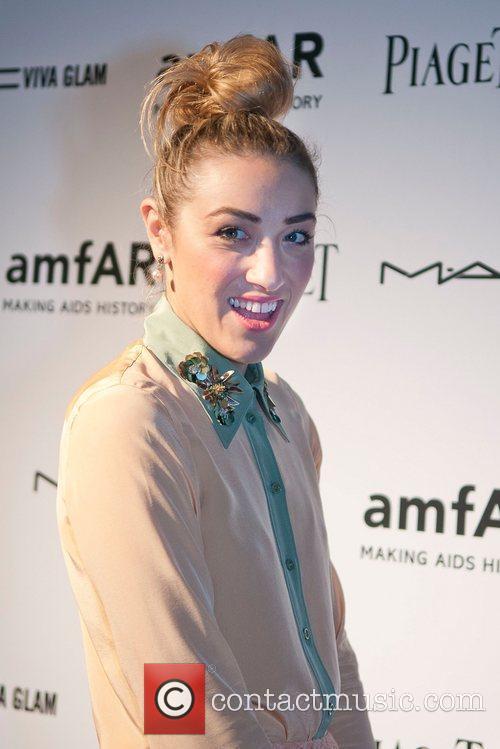 Mia Moretti amfAR inaugural benefit at the Soho...
