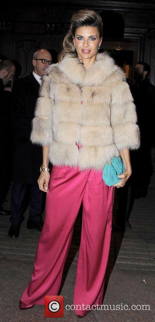 Model Martina Colombari,  at the 50th anniversay...