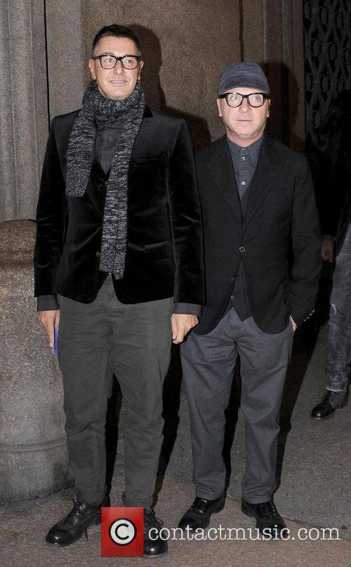 Stylists Stefano Dolce, Domenico Gabbana D&G,  at...