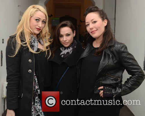Jennifer Blanc, Danielle Harris and Alyssa Lobit 2