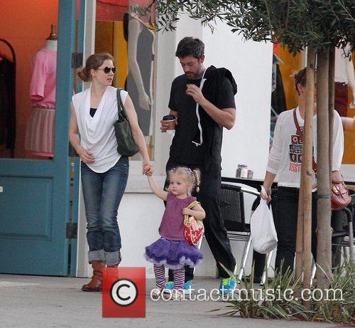 Amy Adams, Darren Le Gallo and Aviana 5