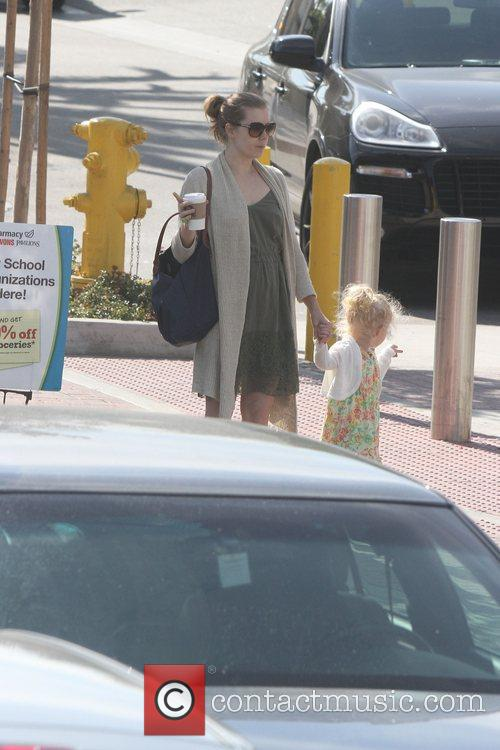 Amy Adams and her daughter Aviana Olea Le...