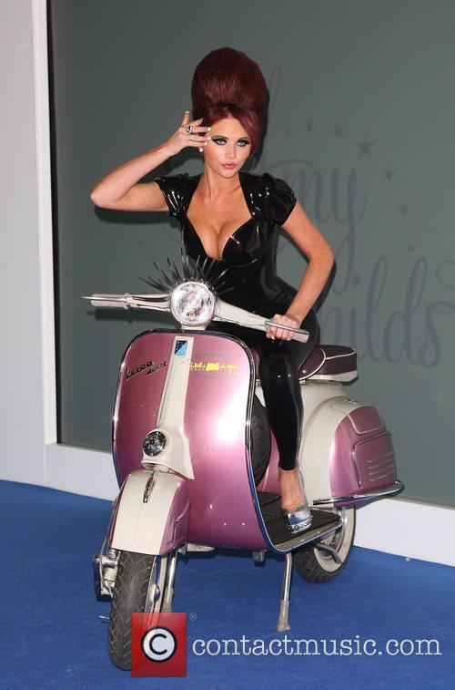 Amy Childs launches her eyelashes range at the...