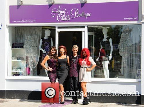 Lizzie Cundy and Amy Childs 2