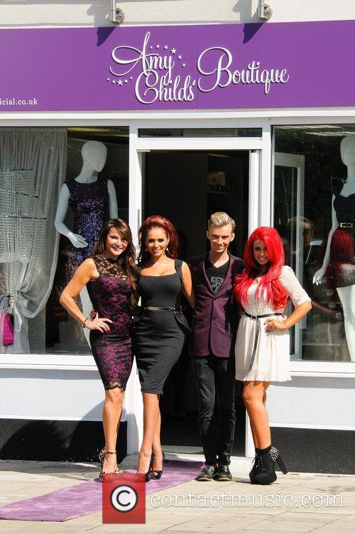 Lizzie Cundy and Amy Childs 1