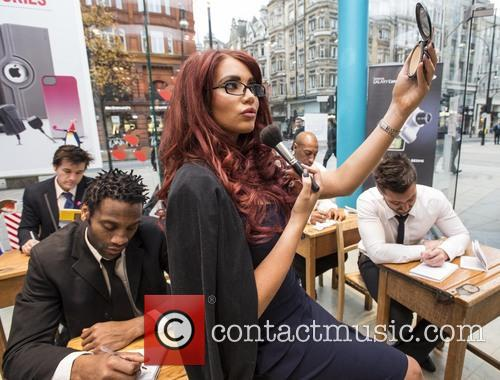 Amy Childs, Carphone Warehouse, Geek Squad, Understanding Mobile Data, Data, Dummies, London and Oxford Street 2
