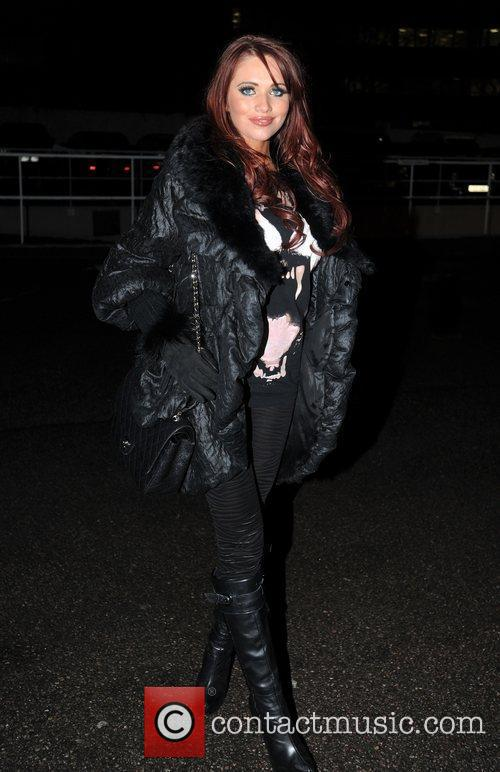 Amy Childs attends Celebrity Big Brother Live Final...