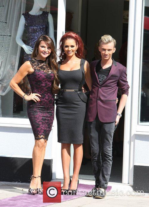 Lizzie Cundy and Amy Childs 5