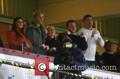 Harry Derbidge attends the West Ham v Watford...