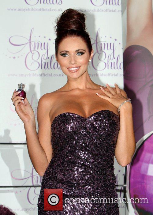 Amy Childs launches her debut fragrance 'Amy Childs'...