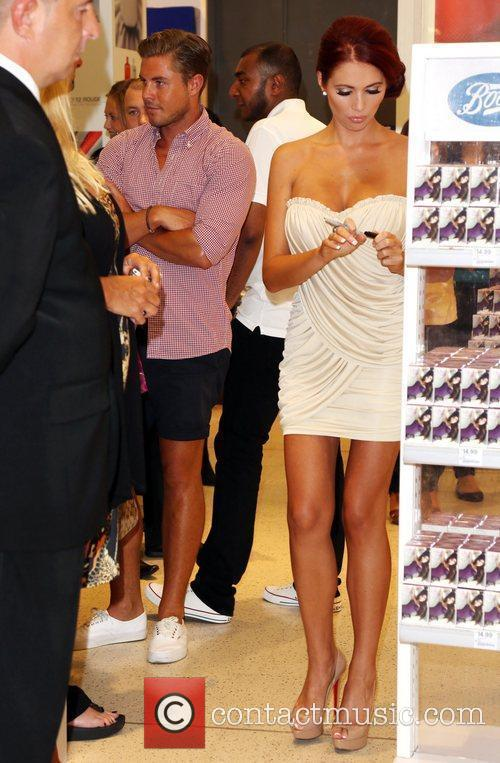 Amy Childs and David Peters Amy Childs launches...