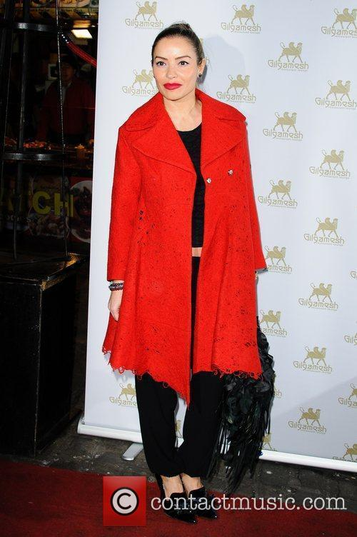 Amy Childs' SS12 Clothing Collection Launch at the...