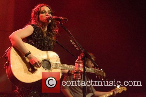 Amy MacDonald performs live at the O2 ABC...
