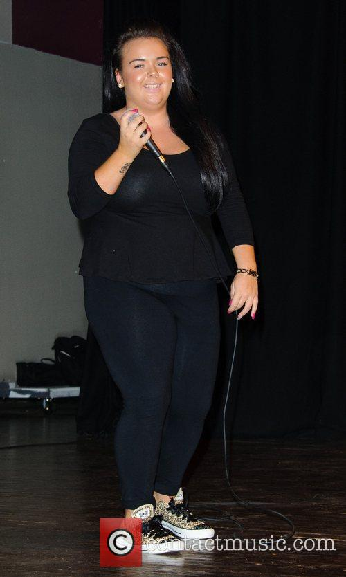Amy Mottram 'The X Factor' wildcard contestant Amy...