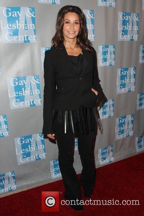 Gina Gershon and Beverly Hilton Hotel 2