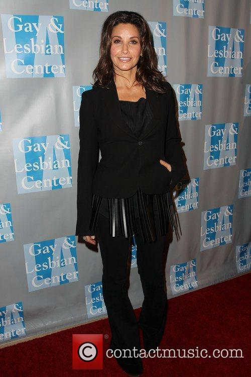 Gina Gershon and Beverly Hilton Hotel 3