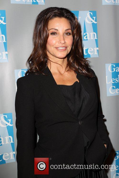 Gina Gershon and Beverly Hilton Hotel 1