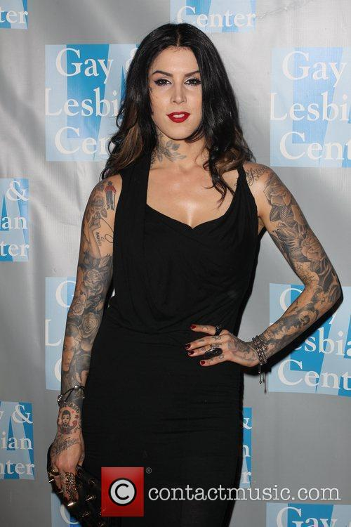 Kat Von D and Beverly Hilton Hotel 11