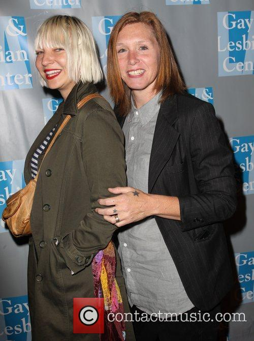 Sia, Patty Schemel and Beverly Hilton Hotel 2