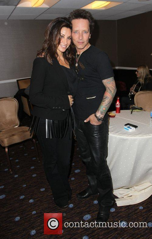 Gina Gershon, Billy Morrison and Beverly Hilton Hotel 2