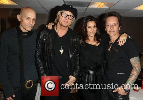 Gina Gershon, Billy Morrison and Beverly Hilton Hotel 1