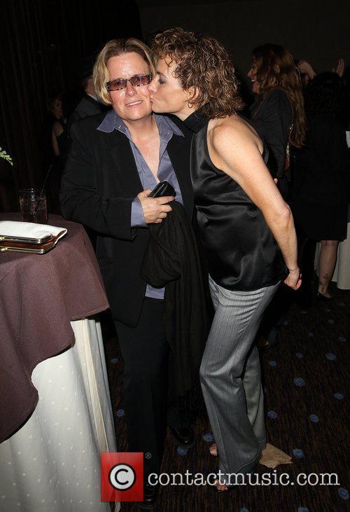 Leslie Barclay and Tina Scorzafava The L.A. Gay...