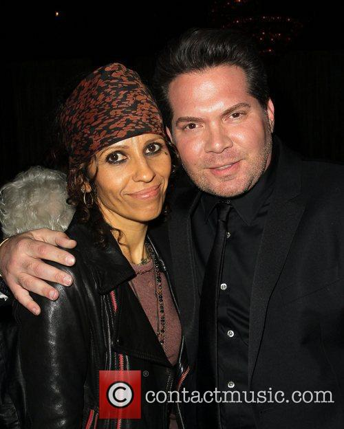 Linda Perry and Beverly Hilton Hotel 8