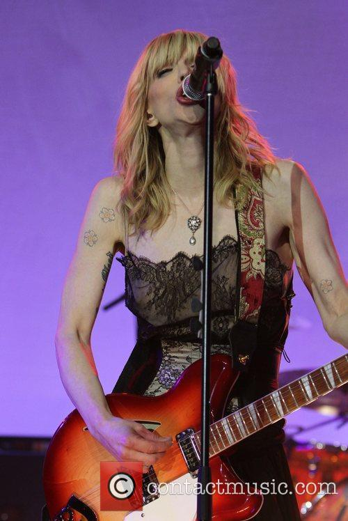 Courtney Love and Beverly Hilton Hotel 11