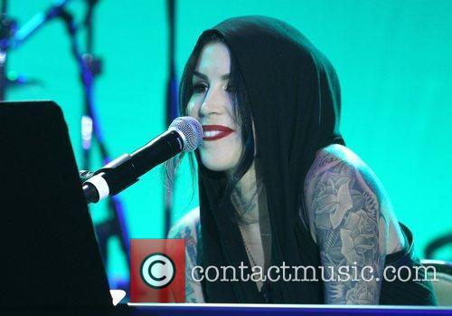 Kat Von D and Beverly Hilton Hotel 5
