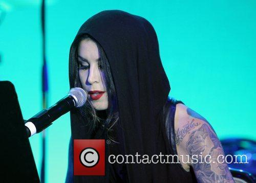 Kat Von D and Beverly Hilton Hotel 10