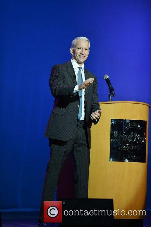 Anderson Cooper, Hard Rock Live, Seminole Hard Rock Hotel and Casino 1