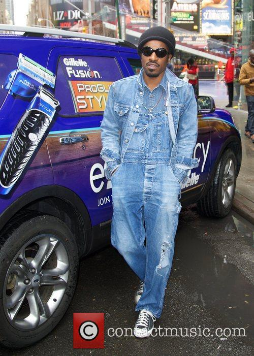 Musician, Gillette, Master, Style, Andr, Andre Benjamin, Movember and Times Square 2