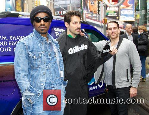 Musician, Gillette, Master, Style, Andr, Andre Benjamin, Movember and Times Square 5