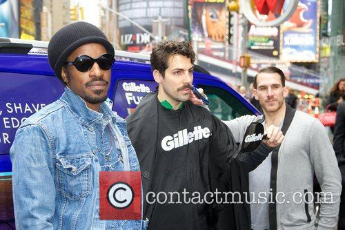 Musician, Gillette, Master, Style, Andr, Andre Benjamin, Movember and Times Square 4