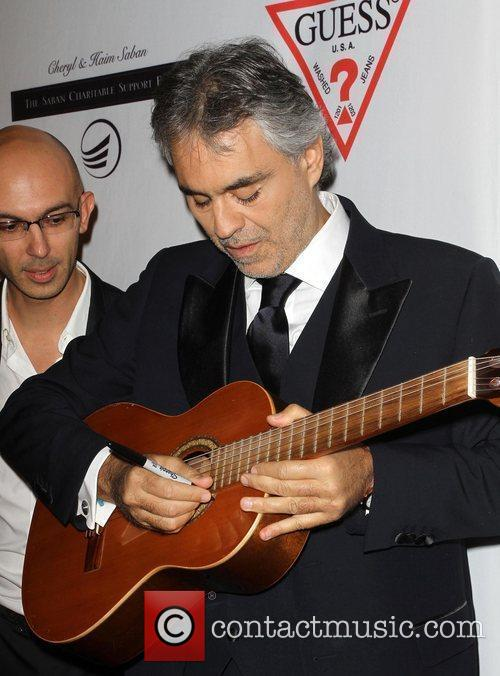 Andrea Bocelli and Beverly Hilton Hotel 9