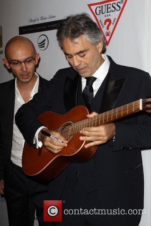 Andrea Bocelli and Beverly Hilton Hotel 5