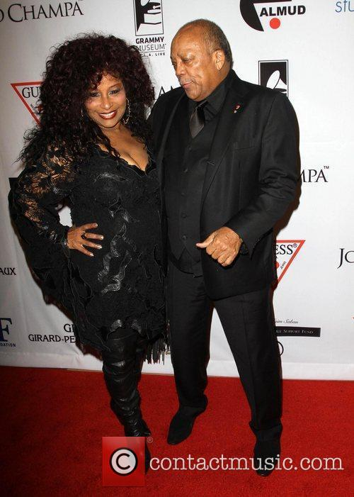 Chaka Khan, Quincy Jones and Beverly Hilton Hotel 5
