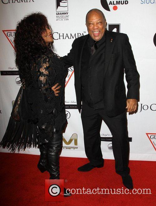 Chaka Khan, Quincy Jones and Beverly Hilton Hotel 11