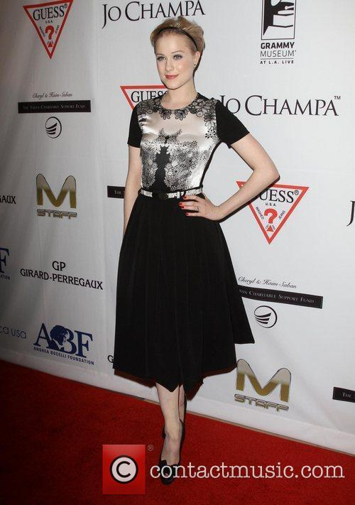 Evan Rachel Wood and Beverly Hilton Hotel 1