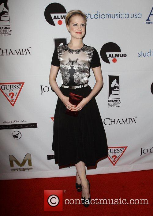 Evan Rachel Wood and Beverly Hilton Hotel 9