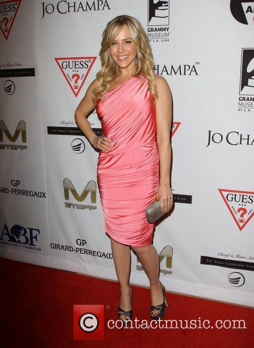 Julie Benz and Beverly Hilton Hotel 2