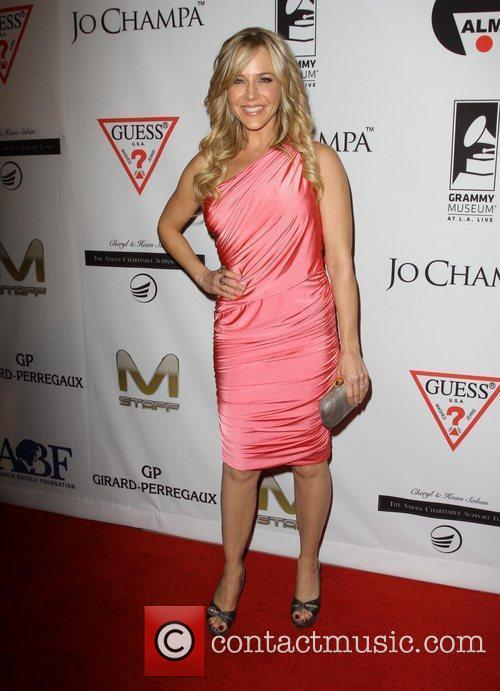 Julie Benz and Beverly Hilton Hotel 12