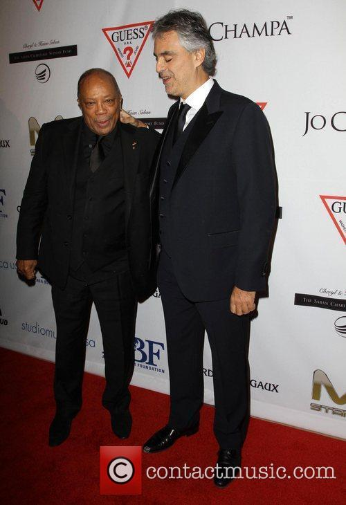 Quincy Jones, Andrea Bocelli and Beverly Hilton Hotel 7