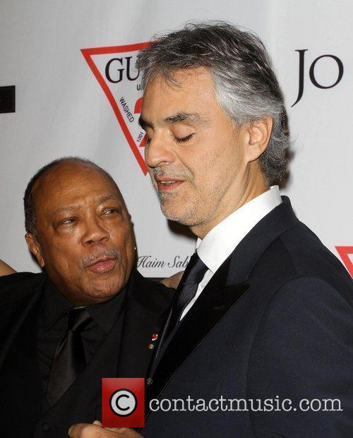 Quincy Jones, Andrea Bocelli and Beverly Hilton Hotel 3