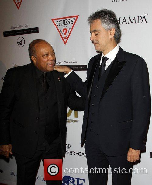Quincy Jones, Andrea Bocelli and Beverly Hilton Hotel 8