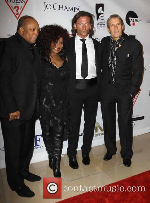 Quincy Jones, Chaka Khan, Michael Bolton and Beverly Hilton Hotel 5