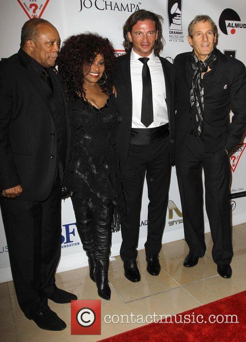 Quincy Jones, Chaka Khan, Michael Bolton and Beverly Hilton Hotel 9