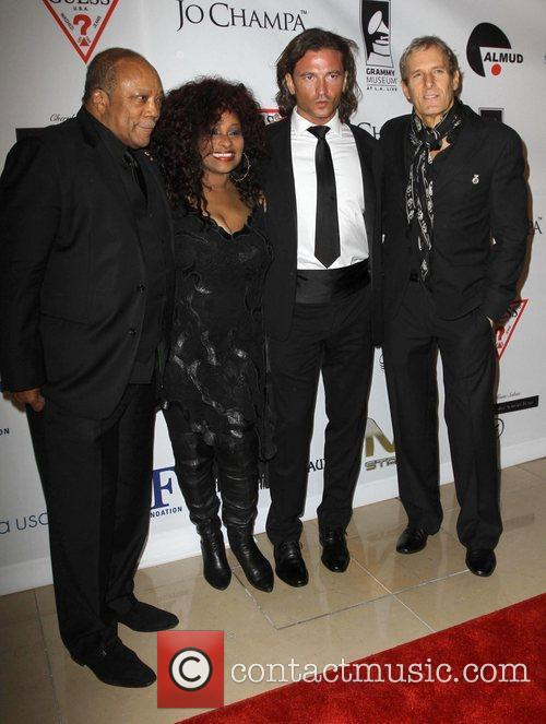 Quincy Jones, Chaka Khan, Michael Bolton and Beverly Hilton Hotel 4